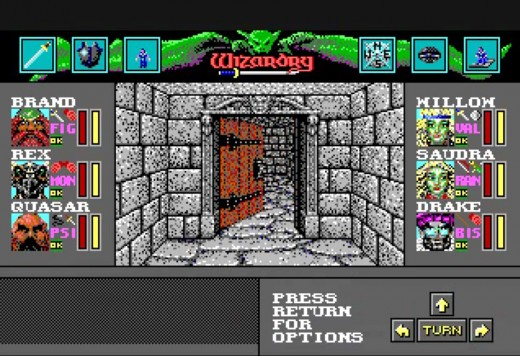 If you enjoy hard-core dungeon crawling, the Wizardry series would be opium to you.