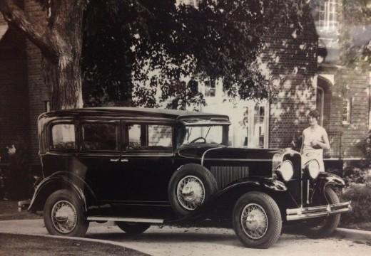 Janet Reuter, original owner, in 1928