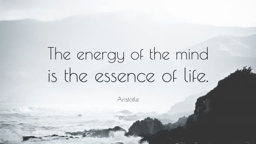 All life depends on your mind's energy | Source