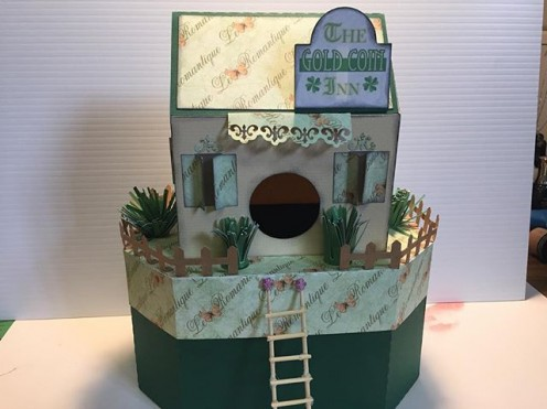 Abby Blackburn's Gold Coin Inn in paper.