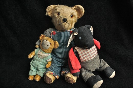 old teddy bears worth