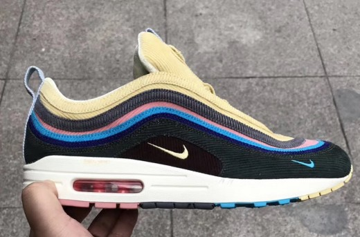 Who would have thought the upper of the 97 would mesh so well with the sole of the 90?