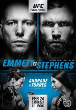 UFC on Fox: Emmett vs. Stephens – Pre-fight Analysis and Favorites