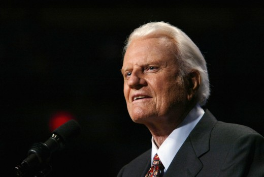 Portrait of Billy Graham in 2003