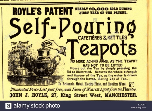 Advertising in the late 1800's mainly showed inventions and items that made one's life easier.