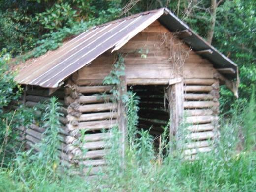 A classic smokehouse