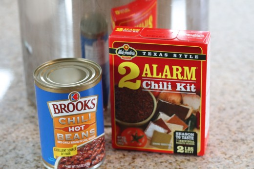 Our favorite chili beans and seasonings for Screamin' Hot Chili