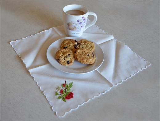 Enjoy your Golden Oats Biscuits with Blueberries and Coffee
