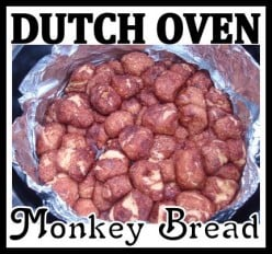 Campfire Monkey Bread - An Easy Camping Treat for Kids Recipe