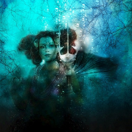 Mermaids can be called on to aid in your dream-workings.