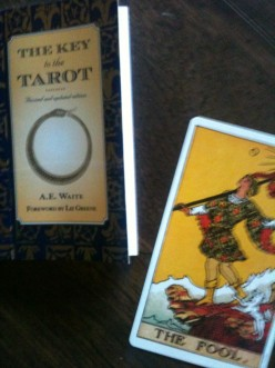 Rider Waite Tarot Deck - The Key to the Tarot