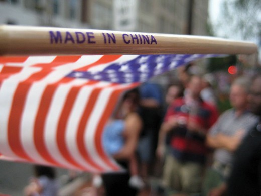 American Flags Made in China