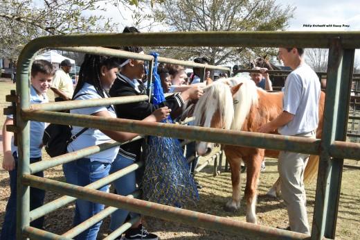 Philip Crotwell with Sunny Pony.