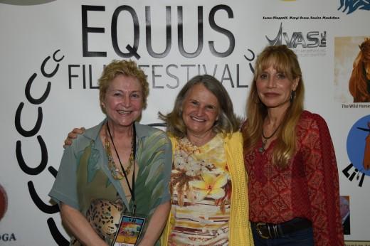 Luann Chappell, Margi Evans, Sandra Mendelson