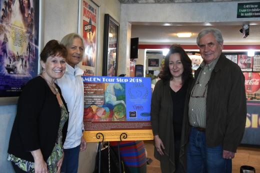 Lisa Diersen, Sue Sensor, Julianne Neal and George Sensor.