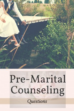 Pre-Marital Counseling Questions