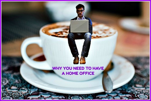 Having a home office greatly improves the quality of a person's life.