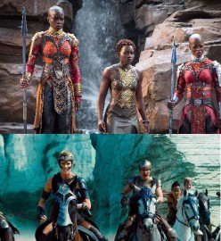 Intersectional Feminism, Wonder Woman, and Black Panther: Different Facets of the Diamond