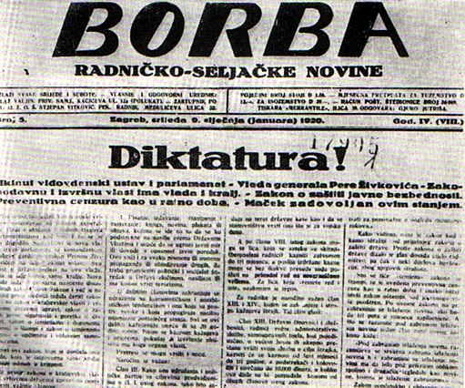 Beginning in 1922, this publication served as the distributor of official Communist propaganda in the territory that would later become Yugoslavia.