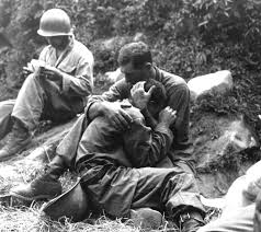 Korean War. Sometimes pictures can only hint at the story.