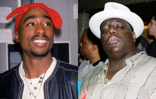 Tupac Shakur and Big