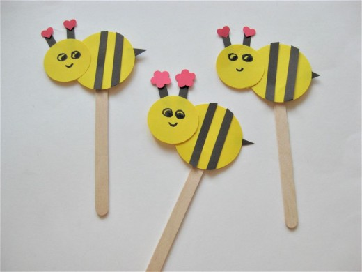 48 Beautiful and Creative Bee Craft Ideas | FeltMagnet