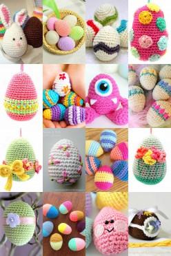 20 Free Easter Egg Crochet Patterns
