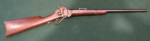 Sharps 1863 .50 caliber rifle used to hunt buffalo