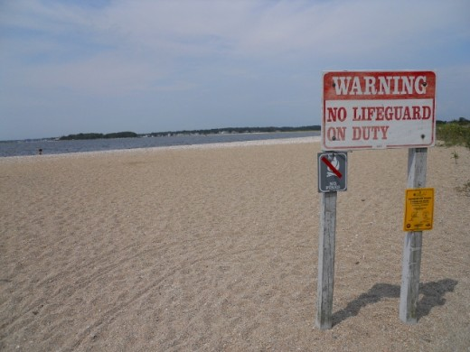Bluff Point Beach, Groton, Connecticut