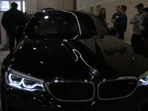 This black beauty which was a BMW M5 Sedan which was priced at a mere $102,600.