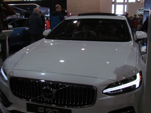 The S90 Momentum White 2018 Volvo was a T8 plug in hybrid. It started out around $48,100.
