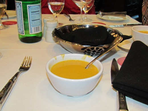 Various soups are also a part of the buffet as a start to your meal.
