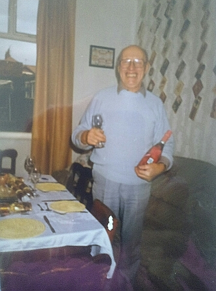 Dad always loved Christmas and New Year