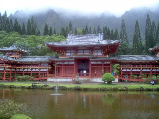 Temple in Hawaii