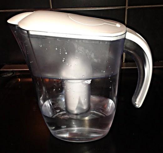 Buy a water filter jug
