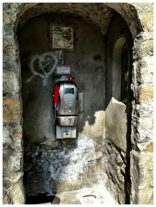Italian phone booth!