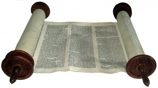 A kosher scroll hand written by a master scribe.