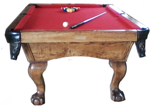 Standard 9 ft Pool Table