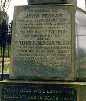 Died 6 Feb 1865