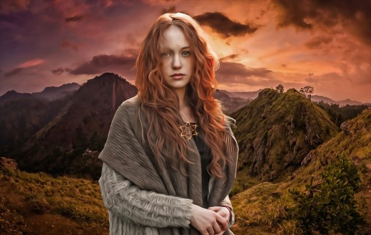 Brigid is a well-known Irish Celtic Goddess who enjoys candle-flame as an offering.
