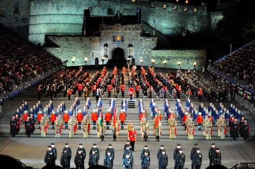 The Spectacle of the Royal Edinburgh Military Tattoo