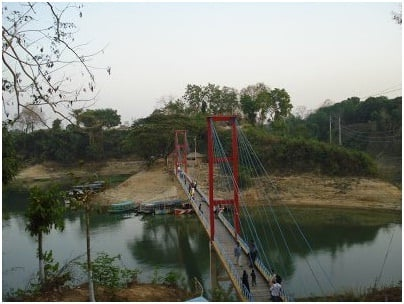 Hanging bridge, Rangamati