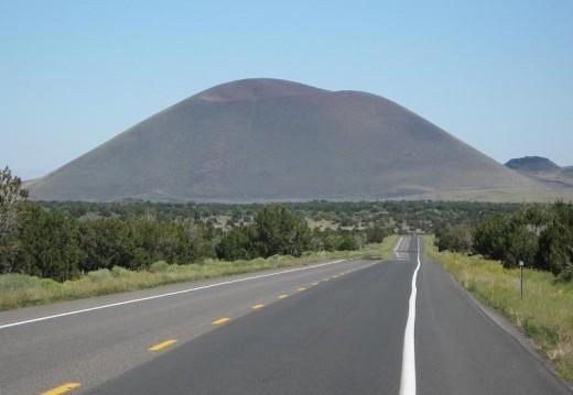 Merriam Crater from Leupp Road