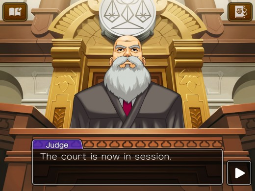 The Judge from the Ace Attorney series.