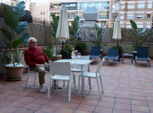 Erik Vokel Gran Via Courtyard
