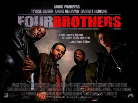 The four brothers, from left to right: Angel, Bobby, Jeremiah, and Jack