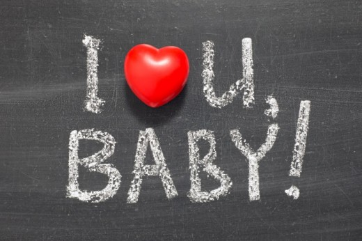 """Baby"" used as a term of endearment"