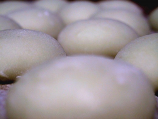 """Mochi"" is a Japanese traditional cake made of boiled rice"