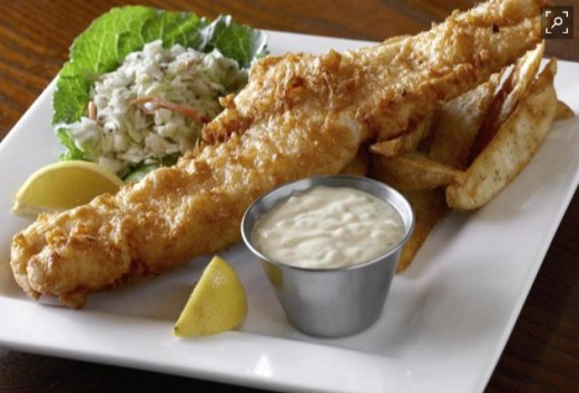 The Claddagh's award winning fish dinner