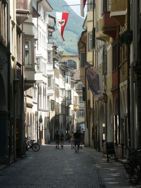 Town of Bolzano, Italy